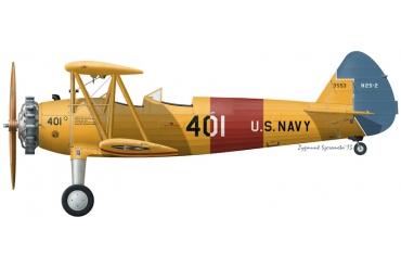 Boeing Stearman PT-13D/N2S-2 | Silver Wings
